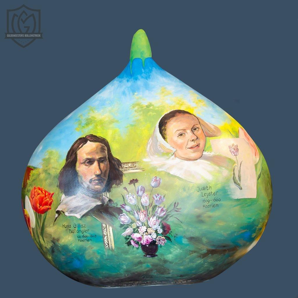 Reuzenbol 'Iconen van de Tulpenteelt' - Kees Putman