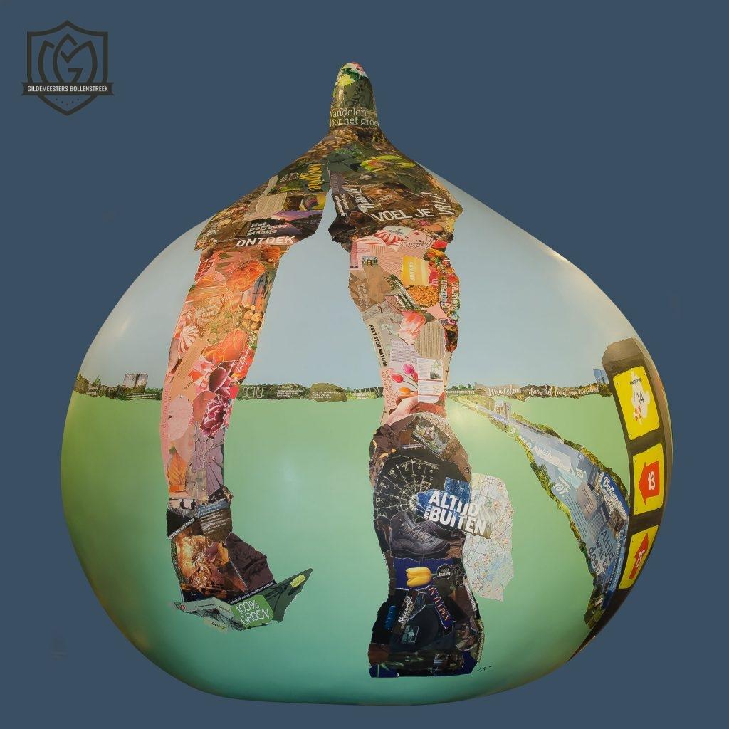 Reuzenbol 'Op pad' - Lisette Hogewoning