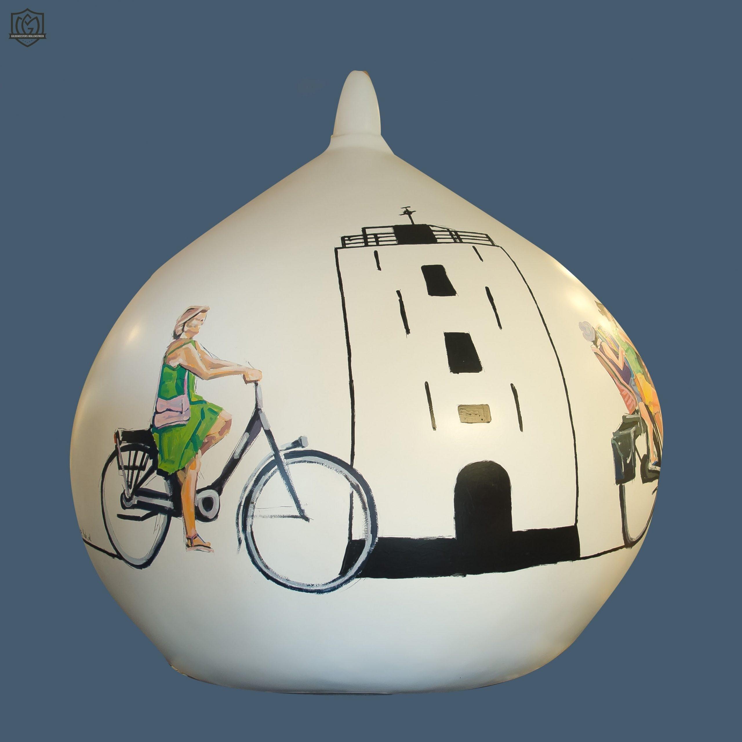 Reuzenbol 'Rondje Katwijk' - Mariska de Kok