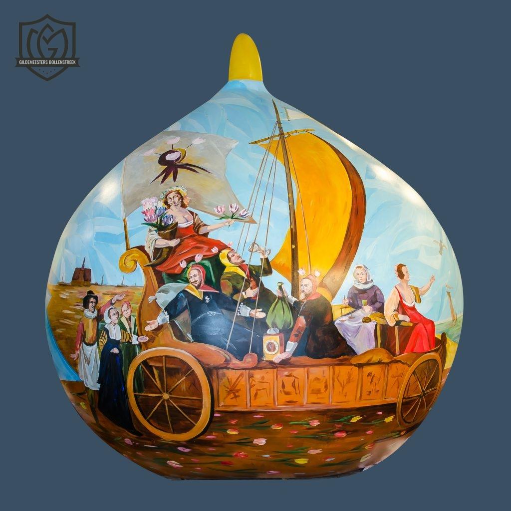 Reuzenbol 'Tulpmania' - Anneke van Kesteren