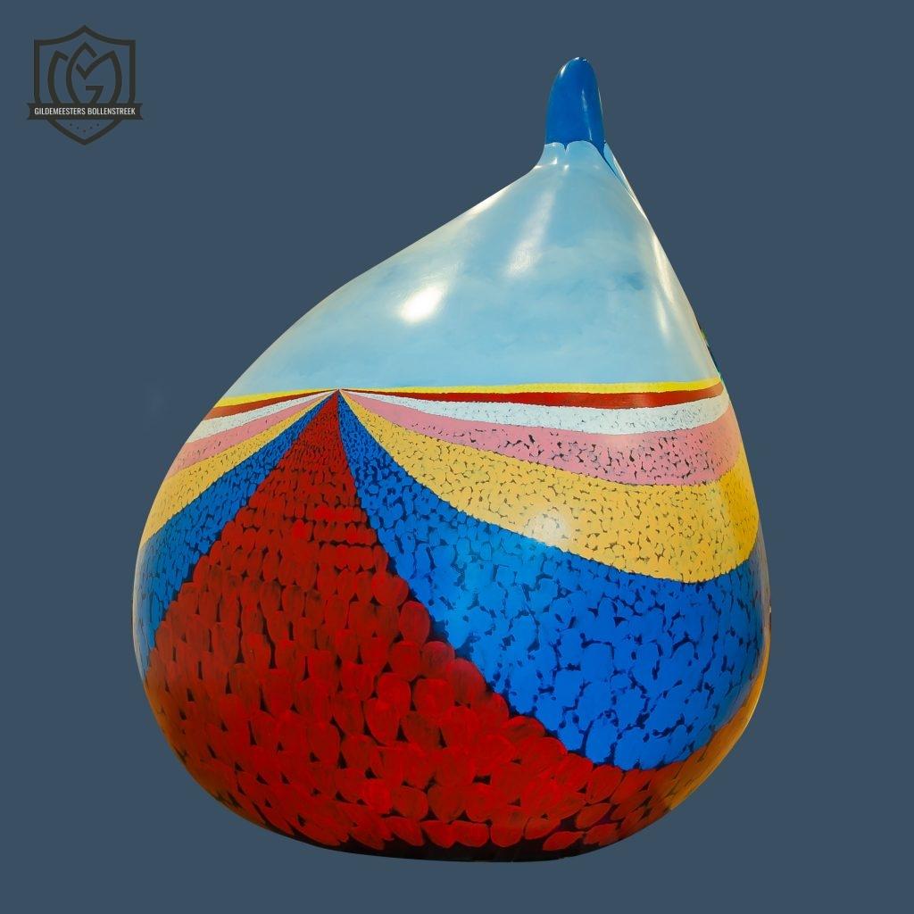 Reuzenbol 'de eeuwige bollenvelden' - Dorine