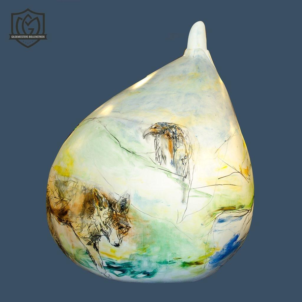 Reuzenbol 'Bol vol natuur' - Corine Buskop