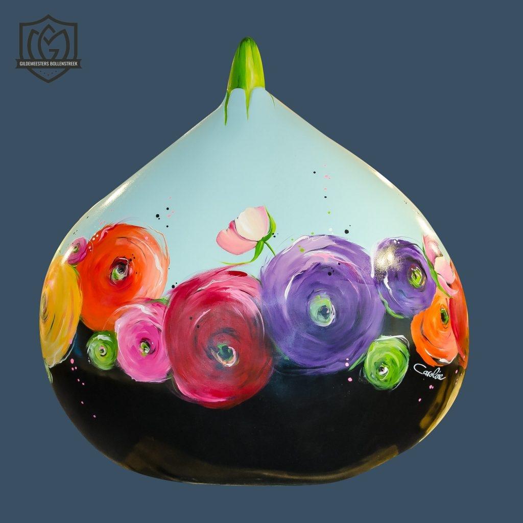 Reuzenbol 'Color the world-2' - Caroline Glas