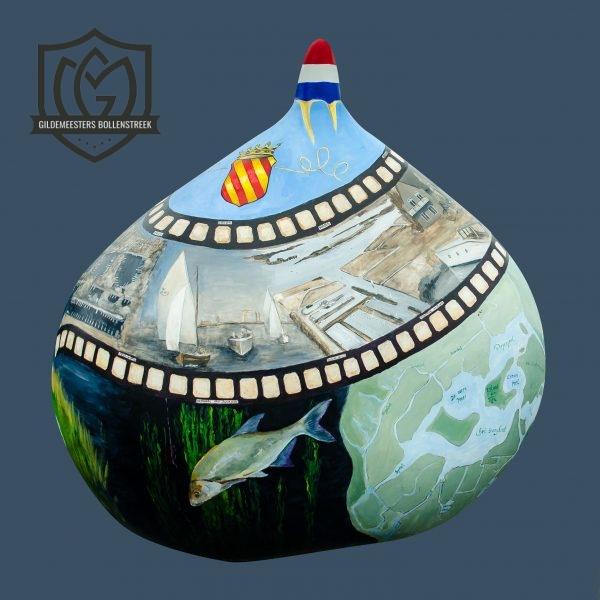 Reuzenbol 'Jachthaven Jonkman' - Joyce van Caspel