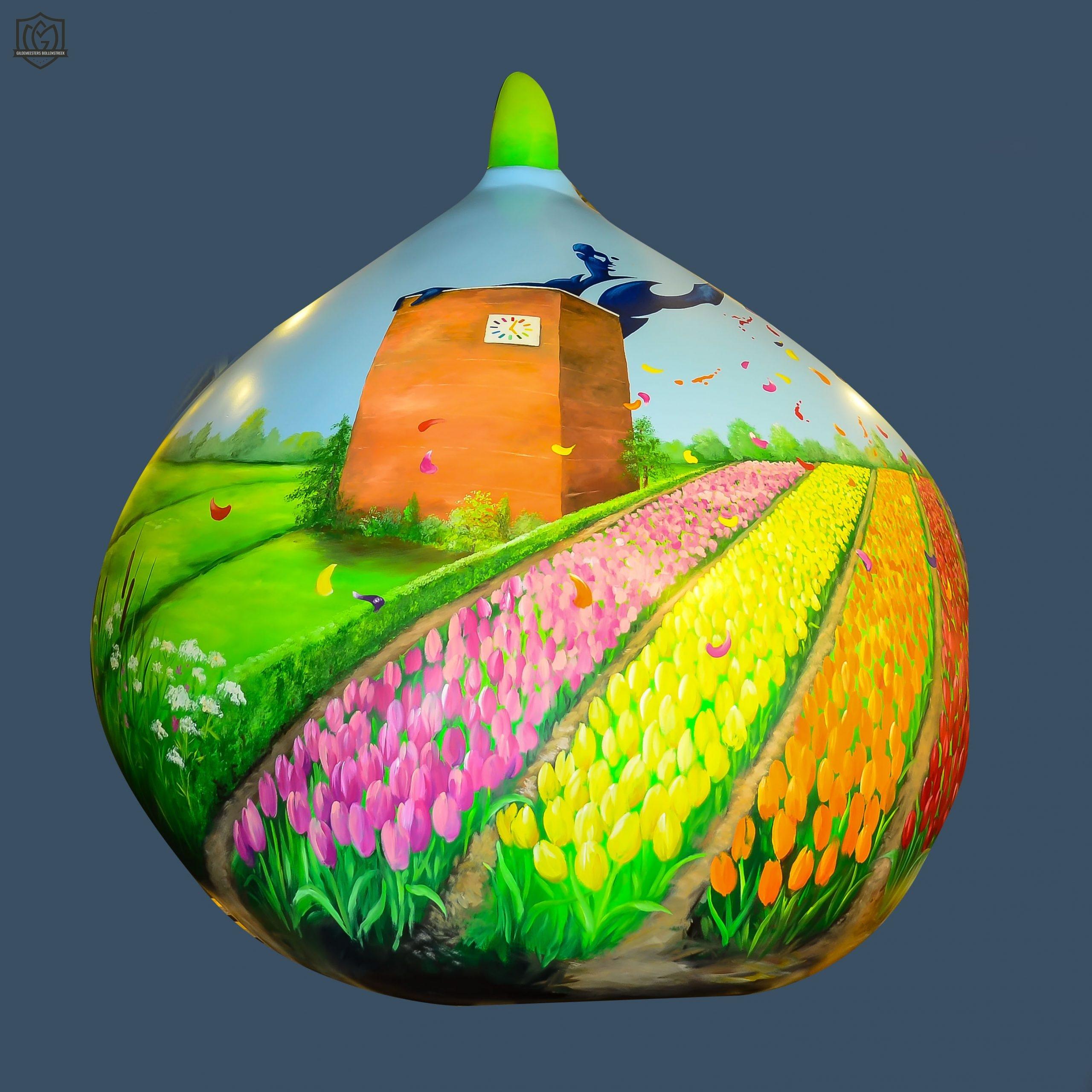 Reuzenbol 'Kleurrijk Bollenstreek' - Judith van der Meer