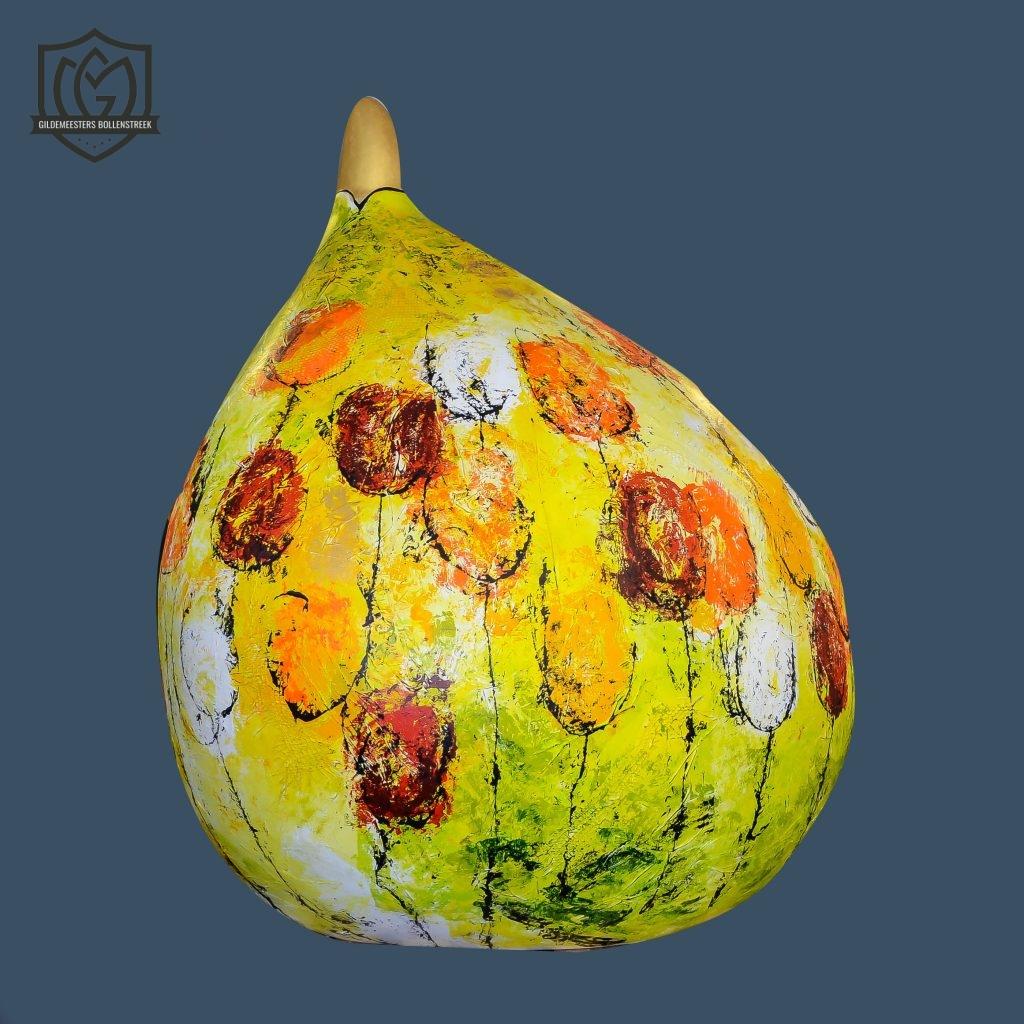Reuzenbol 'Color my day - Tulips' - Ineke Huijerman